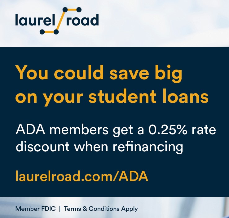 ADA Benefit Student Load Refinancing